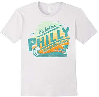 Philly It's Better Down The Shore Graphic T-Shirt