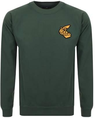 Badge Logo Sweatshirt Green