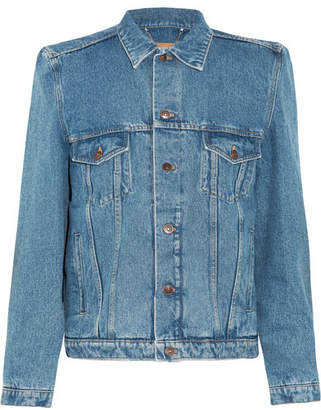 Balenciaga - Denim Jacket - Blue $1,265 thestylecure.com