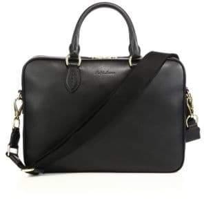 Polo Ralph Lauren Leather Crossbody Briefcase