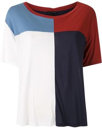 Alcaçuz Nadal color block blouse