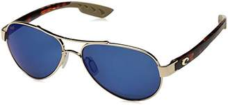 Costa del Mar Loreto Polarized Iridium Aviator Sunglasses