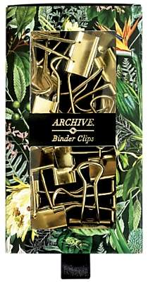 Archive Binder Clips, Set of 15