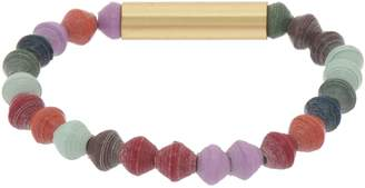3.1 Phillip Lim Bits Multi-Color Beaded Sand Bar Stretch Bracelet