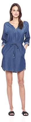 Calvin Klein Jeans Women's Long Sleeve Denim Dress