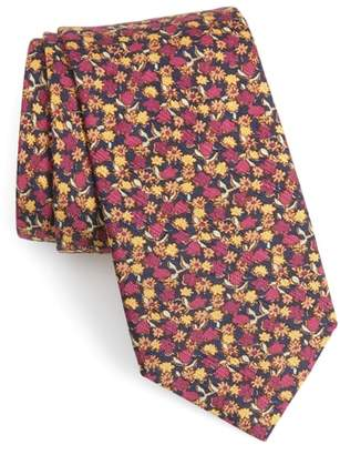 Bonobos Summer Isles Floral Cotton & Silk Tie