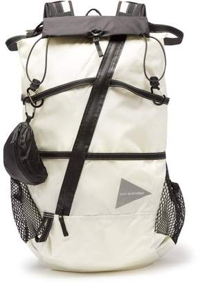 And Wander - 40l Nylon Backpack - Mens - White