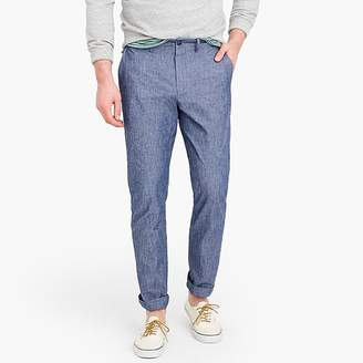 J.Crew 770 Straight-fit chino in stretch chambray