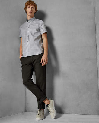 Ted Baker MODMO Circle print cotton shirt