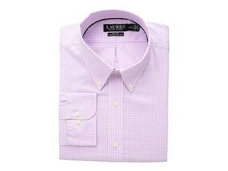 Lauren Ralph Lauren Slim Fit No-Iron Gingham Dress Shirt
