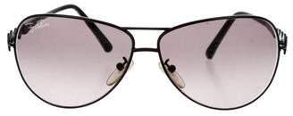 Emilio Pucci Aviator Gradient Sunglasses