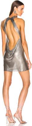 Fannie Schiavoni Yael Dress in Silver | FWRD