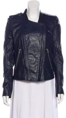 Theyskens' Theory Lightweight Leather Jacket