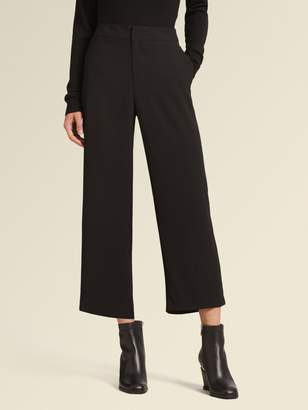 DKNY Cropped Wide-Leg Pant