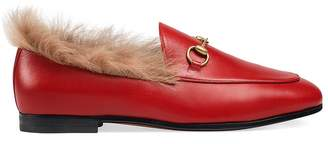 Gucci Women's Jordaan Leather Loafers