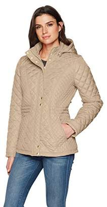 Weatherproof Women's Modern Quilted Jacket with Stretch