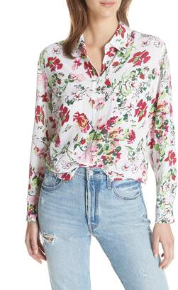 Equipment Signature Floral Silk Shirt