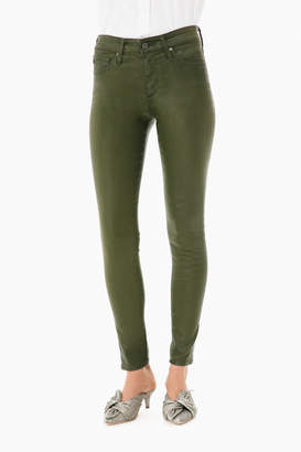 AG Jeans Farrah Skinny Ankle Leatherette