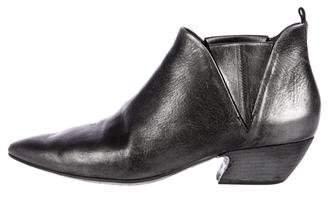 Marsèll Metallic Leather Booties