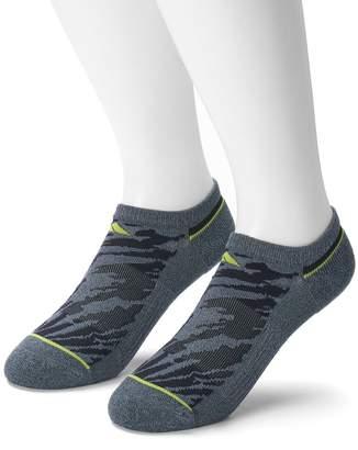 adidas Men's 2-pack climalite Superlite Speed Mesh No-Show Socks