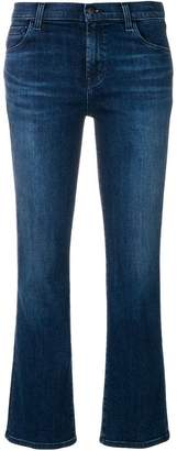 J Brand cropped denim jeans