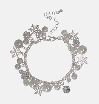 Avenue Snowflake Charm Bracelet