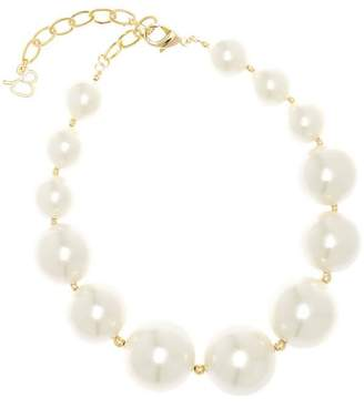 Diana Broussard Aphrodite Pearl and Bead Necklace