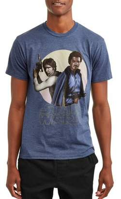 Star Wars Movies & TV Solo and Lando Men's Graphic T-shirt