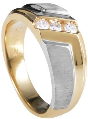 I.B. Goodman 14K Multi-Tone Gold Diamond Band Ring