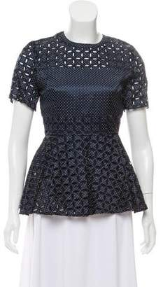 Alexis Patterned Short Sleeve Top w/ Tags