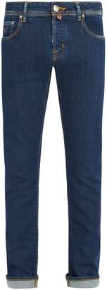 Jacob Cohen Limited edition mid-rise slim-leg jeans
