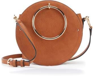 Lauren Conrad Aster O-Ring Circle Crossbody Bag