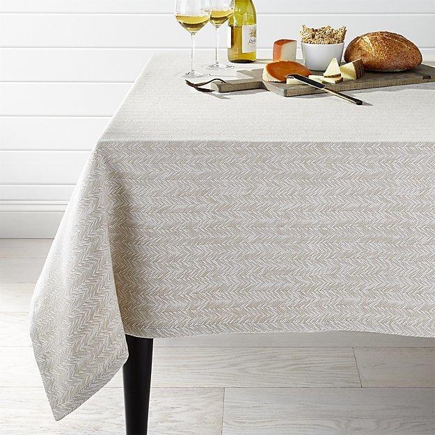Crate & BarrelBaldwin Tablecloth