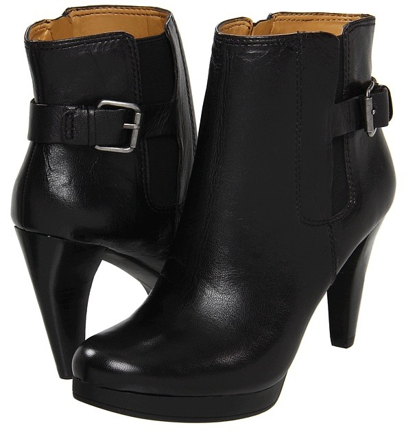 Nine West Nosecrets (Black/Black Leather) - Footwear