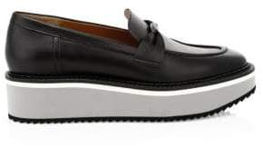 Clergerie Booster Leather Driving Loafers