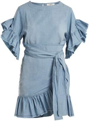 Etoile Isabel Marant Lelicia chambray dress