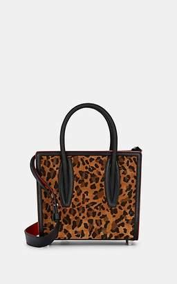 Christian Louboutin Women's Paloma Mini Suede & Canvas Shoulder Bag