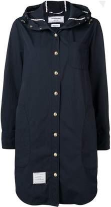 Thom Browne hooded shirt dress