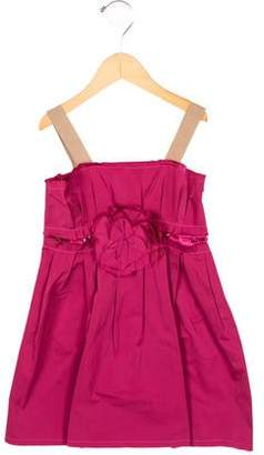 Lanvin Petite Girls' Jewel-Embellished A-Line Dress w/ Tags