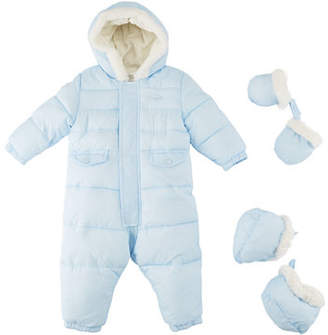 Mayoral Snowsuit with Faux-Fur Lining, 3-12M