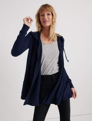 Cloud Jersey Hooded Cardigan