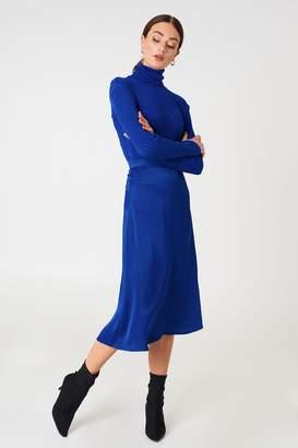 Na Kd Trend Satin Midi Skirt