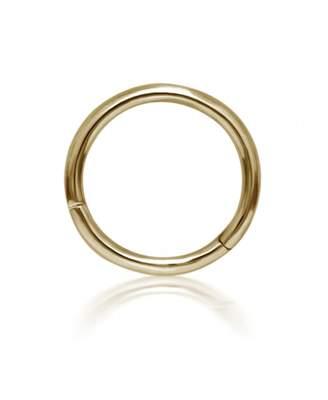 Maria Tash 8mm Plain Hoop Earring - Yellow Gold
