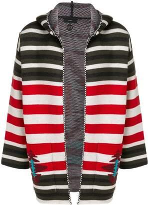 Alanui Navaro striped hoodie