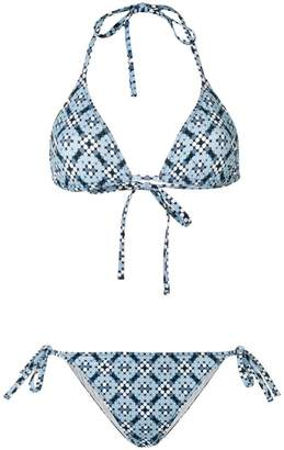 Bottega Veneta two-piece bikini suit