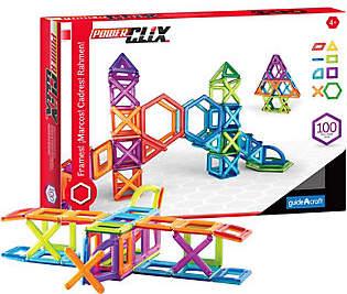 Guidecraft PowerClix Frames - 100 Piece Set