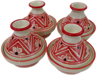 Le Souk Ceramique Nejma 0.035 Qt. Stoneware Round Tagine