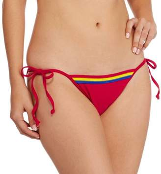DC Swim Supergirl Banded String Bikini Swimsuit Bottom