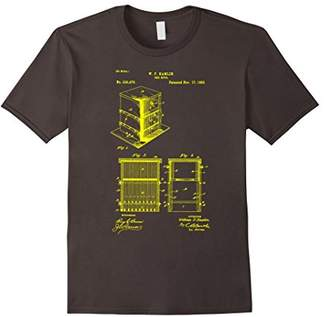 Bee Keeper Bee Hive Patent T-Shirt 1885