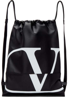 Black VLogo Backpack